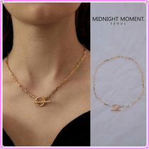 【MIDNIGHT MOMENT.】le necklace〜トグル式チェーンネックレス