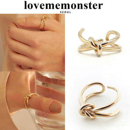 ★人氣★LOVE ME MONSTER★Bold Knot Ring