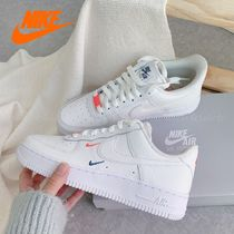 "国内発【NIKE】WMNS AIR FORCE 1 '07☆""Double Mini Swoosh"""