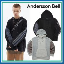 ★ANDERSSON BELL★FABRIC CONTRAST SEOUL HOODIE  男女兼用