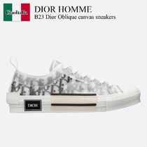 Dior Homme B23 Dior Oblique canvas sneakers