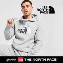 SALE【NORTH FACE】ロゴ パーカー グレー / 送料無料