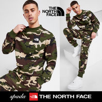SALE【NORTH FACE】ロゴ セットアップ 迷彩 / 送料無料
