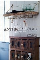 Anthropologie*アンソロポロジー*Live Edge Bar Shelf