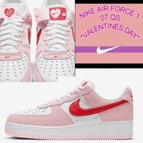 """NIKE AIR FORCE 1 '07 QS """"VALENTINES DAY"""" チューリップピンク"""