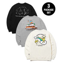 [ GROOVE RHYME ] 9TH ANNIVERSARY 3PACK SWEAT SHIRTS EDITION