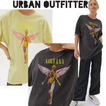 Urban Outfitters(アーバンアウトフィッターズ) Tシャツ・カットソー ● Urban Outfitters ●人気 Nirvana バンド  Tシャツ 2色