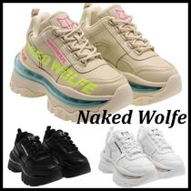 ■Naked Wolfe■FIERCE厚底スニーカー 3color