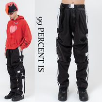 99 PERCENT IS(ナインティナインパーセント) パンツ 99 PERCENT IS★BLACK WASHING D-RING PANTS
