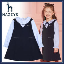 HAZZYS☆HRS11NA51M_NV☆レイヤードワンピース☆卒入園☆卒入学