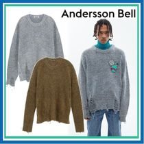 ★ANDERSSON BELL★DAMAGED CREW NECK SWEATER ニット 男女兼用