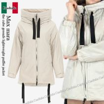 Max mara the cube greenfe lightweight puffer jacket