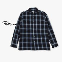 【Ron Herman】Ombre Check Work Shirt【RHC】
