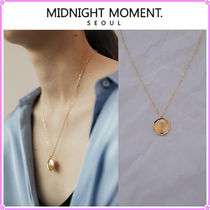【MIDNIGHT MOMENT.】moon necklace〜ネックレス