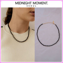 【MIDNIGHT MOMENT.】black chain necklace〜ネックレス