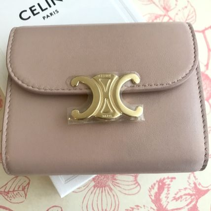 CELINE 折りたたみ財布 送料込【CELINE】SMALL FLAP WALLET IN SHINY SMOOTH LAMBSKIN(7)