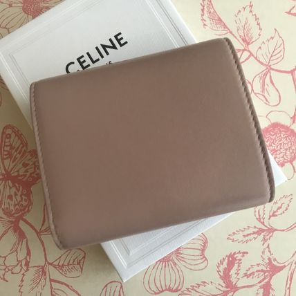 CELINE 折りたたみ財布 送料込【CELINE】SMALL FLAP WALLET IN SHINY SMOOTH LAMBSKIN(8)