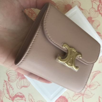 CELINE 折りたたみ財布 送料込【CELINE】SMALL FLAP WALLET IN SHINY SMOOTH LAMBSKIN(12)