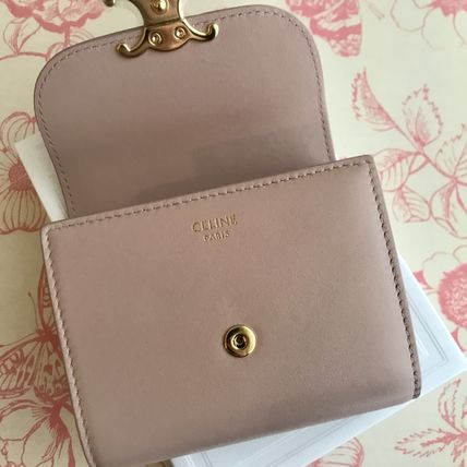 CELINE 折りたたみ財布 送料込【CELINE】SMALL FLAP WALLET IN SHINY SMOOTH LAMBSKIN(13)