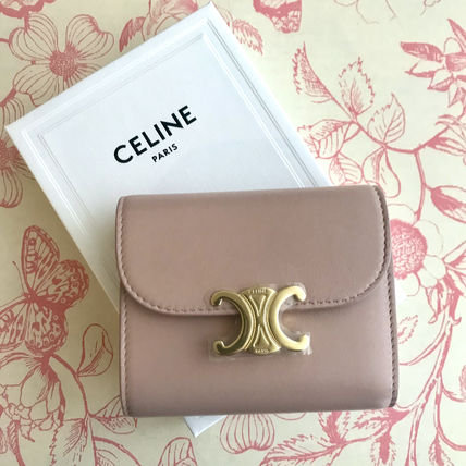 CELINE 折りたたみ財布 送料込【CELINE】SMALL FLAP WALLET IN SHINY SMOOTH LAMBSKIN(6)