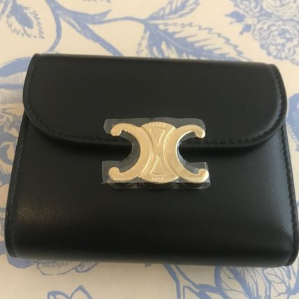 CELINE 折りたたみ財布 送料込【CELINE】SMALL FLAP WALLET IN SHINY SMOOTH LAMBSKIN(4)