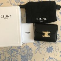 送料込【CELINE】SMALL FLAP WALLET IN SHINY SMOOTH LAMBSKIN