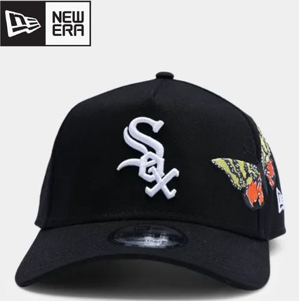 """New Era キャップ 【NEW ERA】ホワイトソックス""""Butterfly Accent"""" 9FORTY A-Frame(2)"""