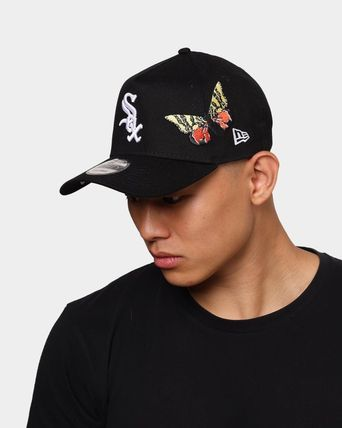 """New Era キャップ 【NEW ERA】ホワイトソックス""""Butterfly Accent"""" 9FORTY A-Frame(9)"""