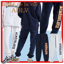 ☆【acme'delavie】☆ADLV TWO COLOR EMBROIDERY PATCH PANT.S☆