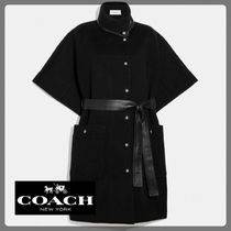 【Coach】コーチ☆Double Face Belted Cape☆ベルトケープ