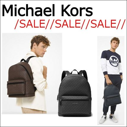 【Michael Kors】//SALE//Cooper Logo Backpack☆メンズ☆3色