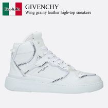 Givenchy Wing grainy leather high-top sneakers