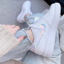 Nike  AIR FORCE 1 '07 LV8 IRIDESCENT レインボー 虹色