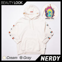【NERDY】Character Overfit Pullover Hoodie フーディ