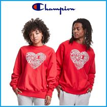 男女OK♪ ★CHAMPION★Reverse Weave Crew, Heart Of A Champion