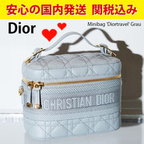 関税送料込国内発送★Dior Minibag Diortravel in Grau