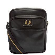 FRED PERRY(フレッドペリー) ショルダーバッグ ★FRED PERRY AUTHENTIC PIQUE SIDE BAG 関税込★