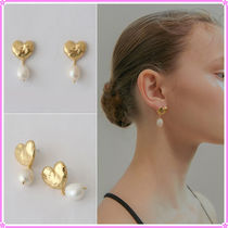【MIDNIGHT MOMENT.】volume love pearl earring〜ピアス