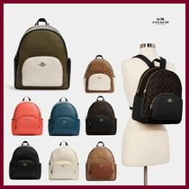 【COACH】新作!Court Backpack☆