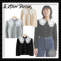 【& Other Stories】 Cropped Textured wool Cardigan 全3色