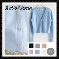 & Other Stories(アンドアザーストーリーズ) カーディガン 【& Other Stories】 Bee Button Alpaca Blend Cardigan