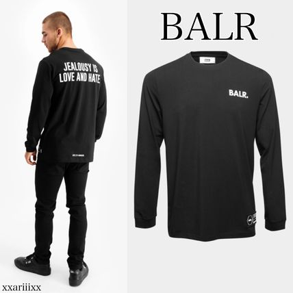 ◆NEW◆BALR◆ LOVE AND HATE STRAIGHT ロゴ 長袖 Tシャツ
