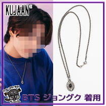 【KUJAAN】Daisy Necklace - Onyx ★BTS jungkook着用★