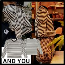 AND YOU(アンドユー) Tシャツ・カットソー ★関税込★AND YOU★SSANGMUN Puffed long sleeve T-shir.t★