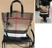 【BURBERRY】ARMLEY 2WAY トートバッグ