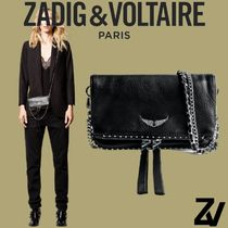 ZADIG & VOLTAIRE(ザディグ エ ヴォルテール) ショルダーバッグ・ポシェット [Zadig&Voltaire] ROCK NANO STUDS CLUTCH