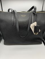 JIMMYCHOO BRIA TOTE バッグ  M size グレー 黒 トートバッグ