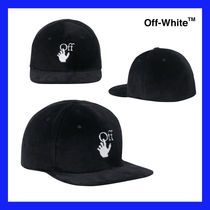 VIP価格【Off-White】embroidered-logo snapback cap 関税込