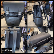 【Coach】新作!!SALE!! Track Backpack☆レザーバックパック☆