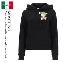 Moschino italian teddy bear hooded sweatshirt